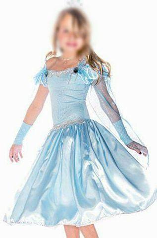 Fantasia Princesa Elsa Frozen Infantil