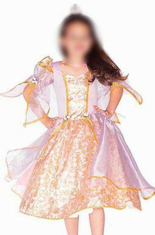 Fantasia Princesa Rapunzel Infantil
