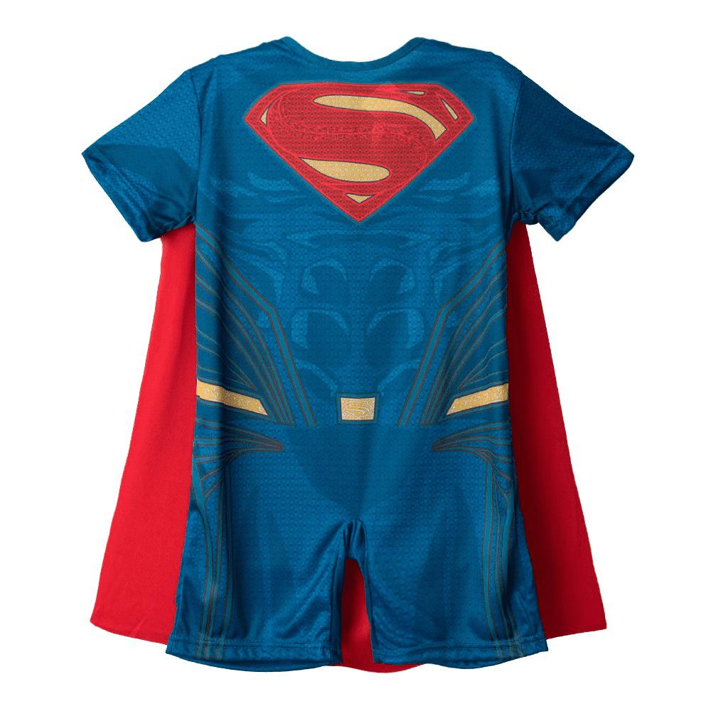 Fantasia Super Homem Infantil Curto