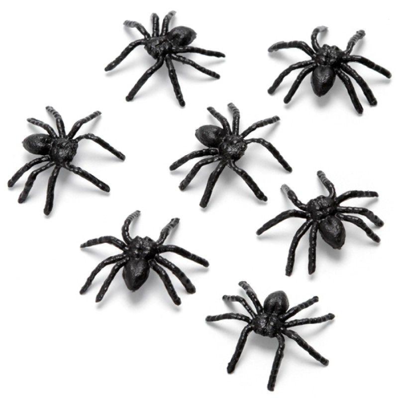 Kit Aranhas de Plástico