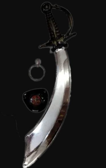 Kit Pirata Espada