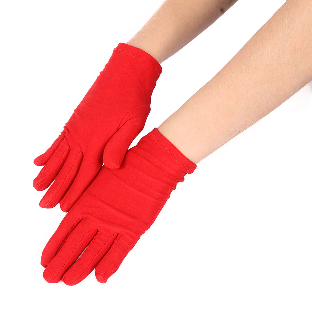 Luva Curta - Preta / Vermelha / Branca