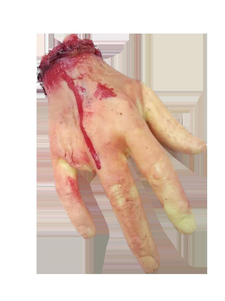 Mão Emborrachada - Unidade