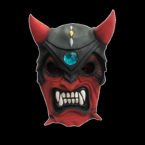 Máscara Diabo com Elmo - Látex
