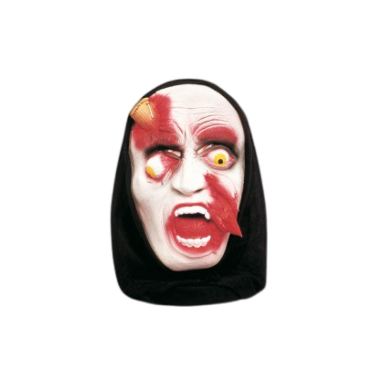Máscara Estaca Terror Halloween - Látex