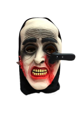 Máscara Faca Terror Halloween - Látex