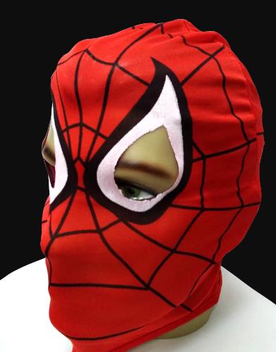 Máscara Homem Aranha Tecido