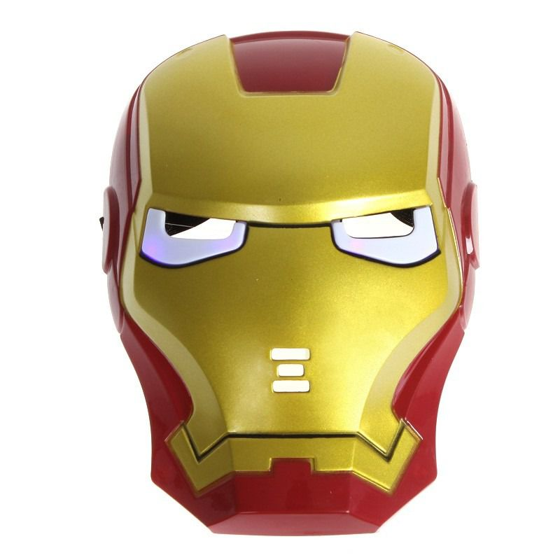 Máscara Homem de Ferro - Plástico