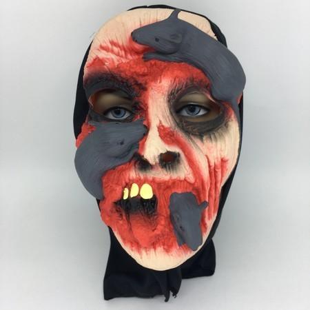 Máscara Ratos Terror Halloween - Látex