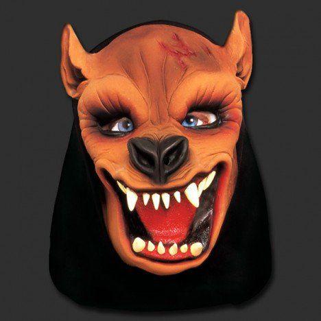 Máscara Lobo / Fera - Látex