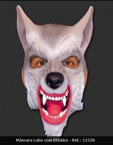 Máscara Lobo Mau - Látex