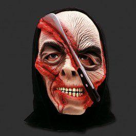 Máscara Machadinha Terror Halloween - Látex