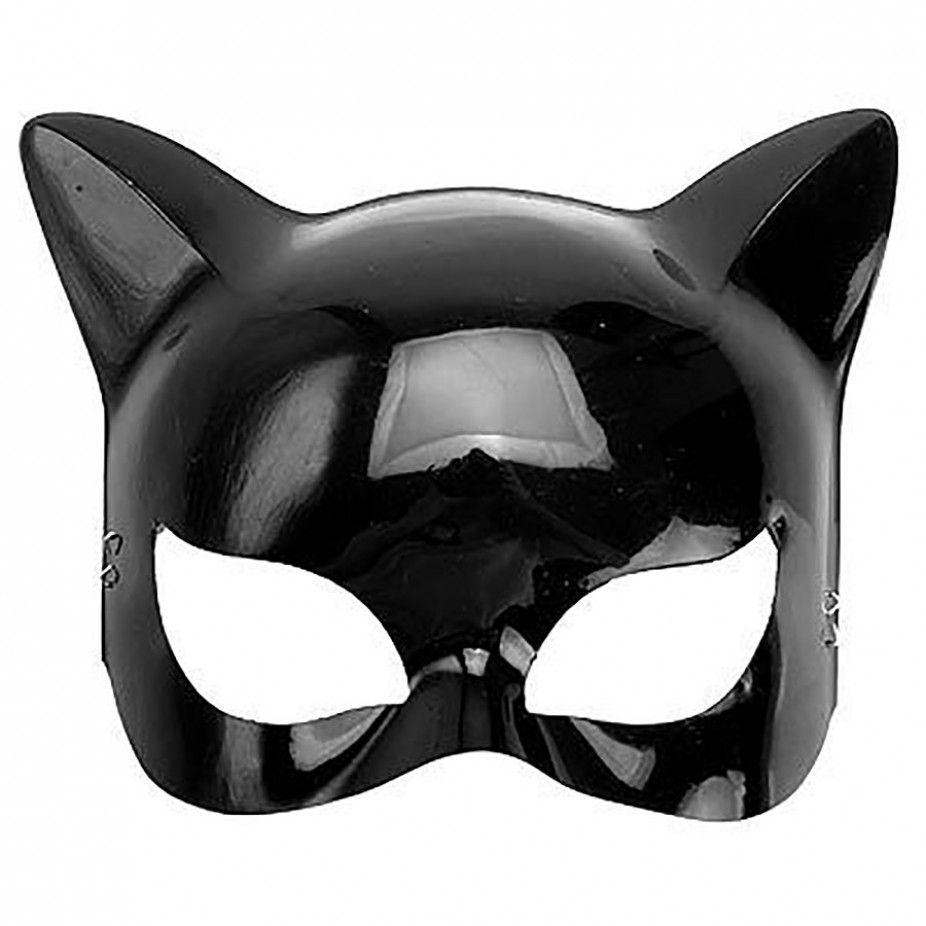 Máscara Mulher Gato - Plástico