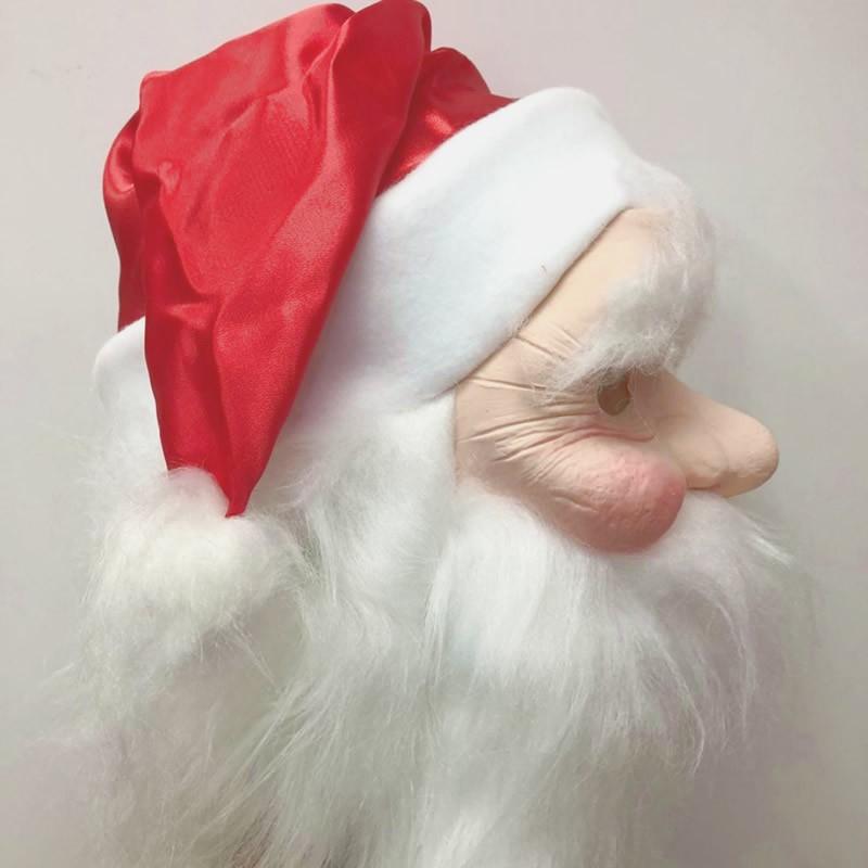 Máscara Papai Noel - Látex