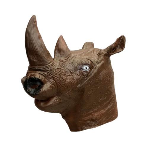 Máscara Rinoceronte Látex