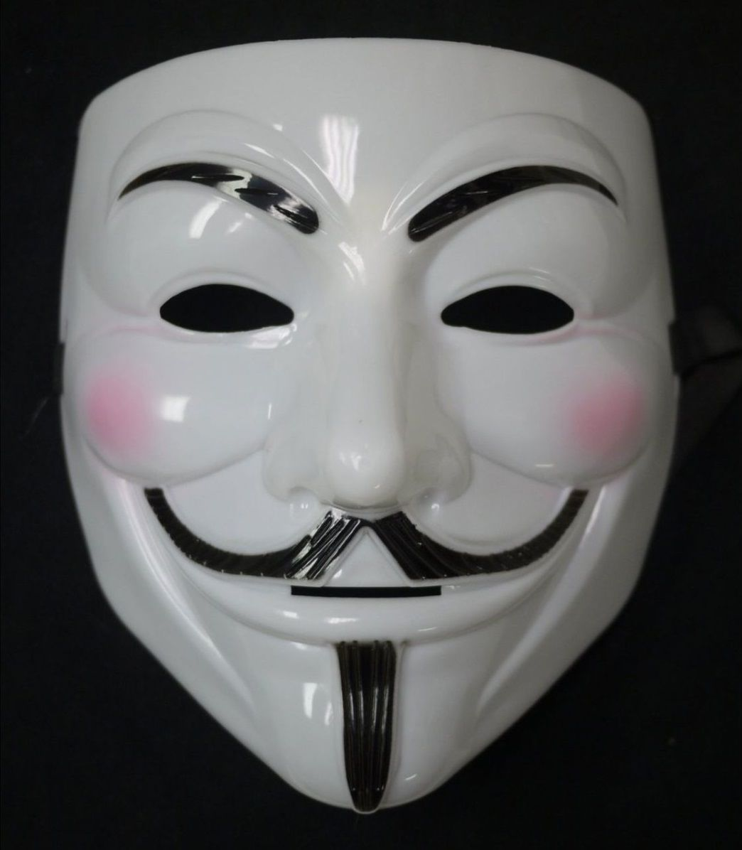 Máscara V de Vingança / Anonymous - Plástico