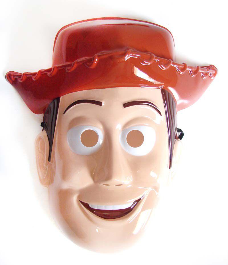 Máscara Woody - Plástico