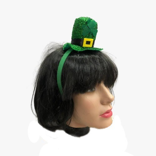 Tiara Saint Patricks Day Mini Cartola Verde