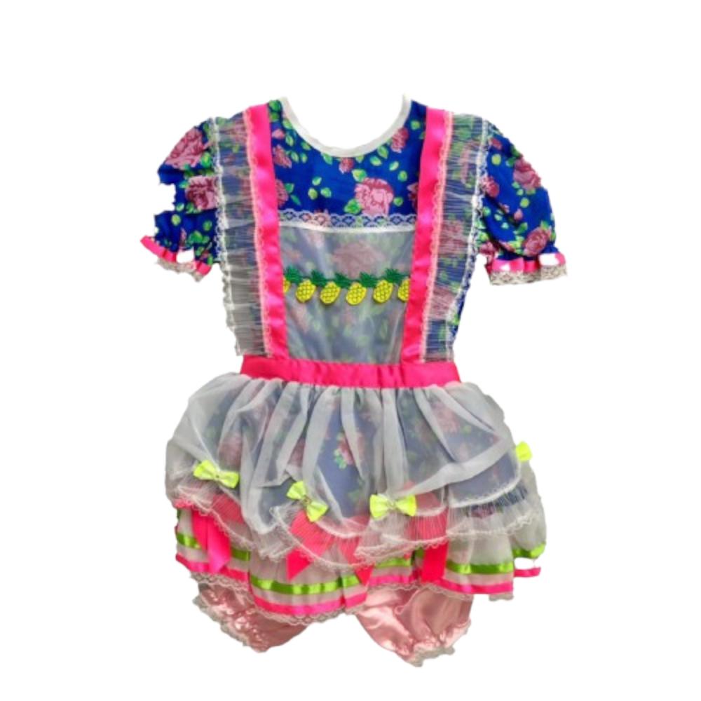 Vestido Caipira São João / Festa Junina - Infantil