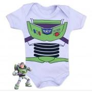 Body infantil divertido para bebê do Buzz Lightyer - Toy Story
