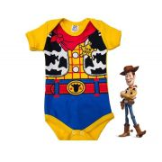 Body infantil divertido para bebê do Boneco Cowboy Wood - Toy Story