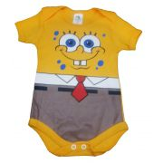 Body infantil divertido para bebê Bob Esponja