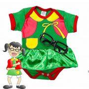 Body infantil divertido para bebê da Chiquinha do Chaves