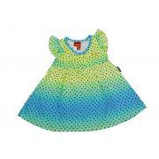 Vestido infantil com bolinhas Kyly
