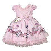 Vestido infantil de festa da Boneca LOL Princesa