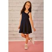 Vestido infantil de verão em cotton Milli & Nina