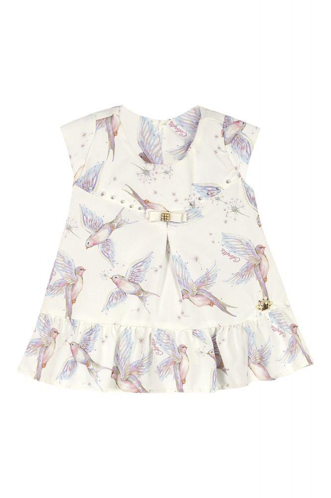 Blusa infantil feminina estampada para bebê Coloritta