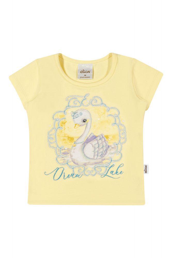 Blusa infantil feminina para bebê Elian