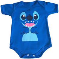 Body infantil divertido para bebê Lilo Stitch