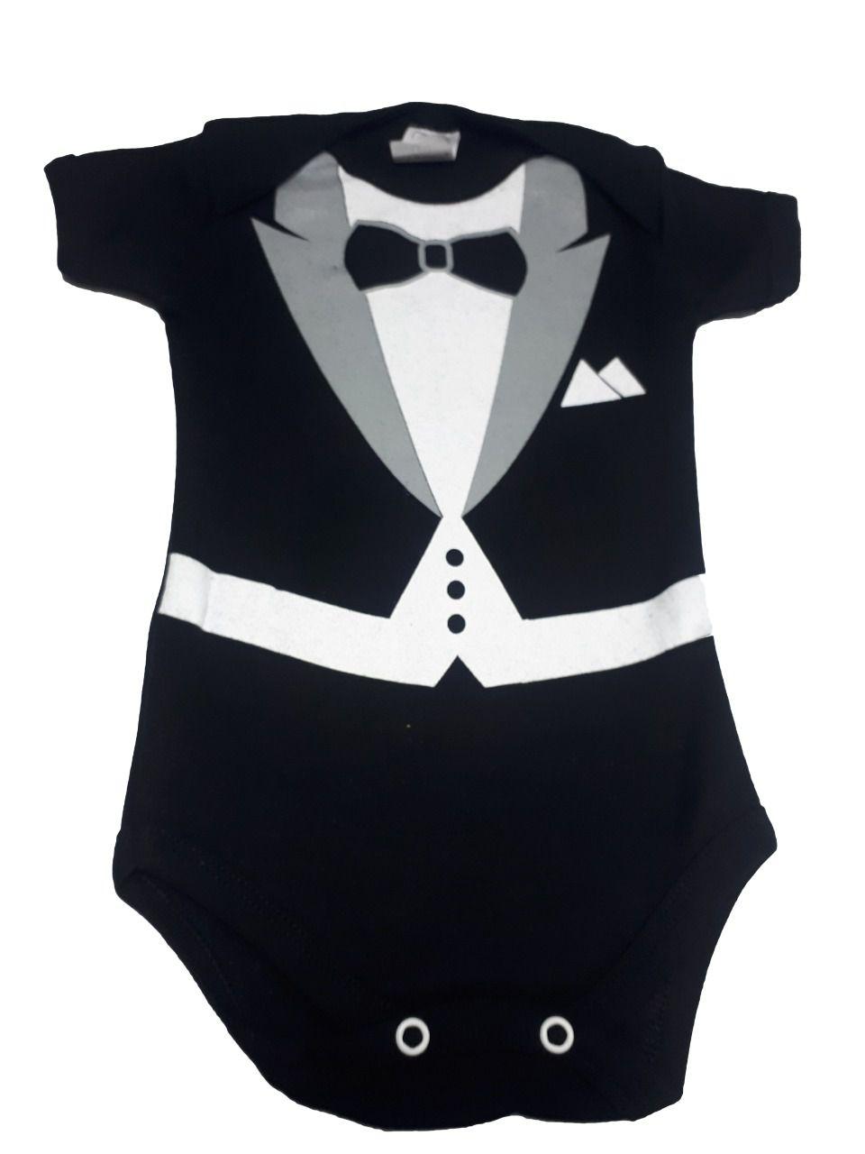 Body infantil divertido para bebê Poderoso Chefinho