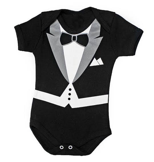 Body infantil temático para bebê Poderoso Chefinho