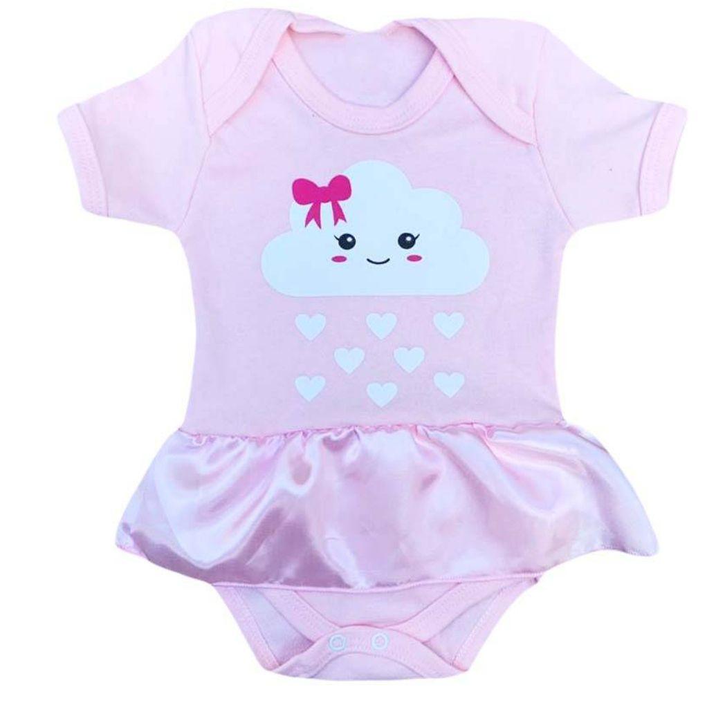Body infantil divertido para bebê Chuva de benção