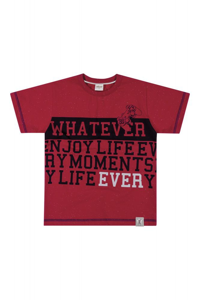 Camiseta infantil masculina Elian