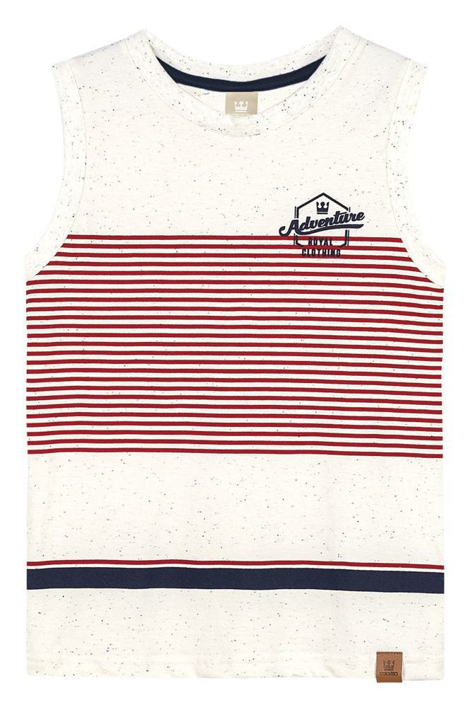 Camiseta infantil masculina regata  Adventure Coloritta