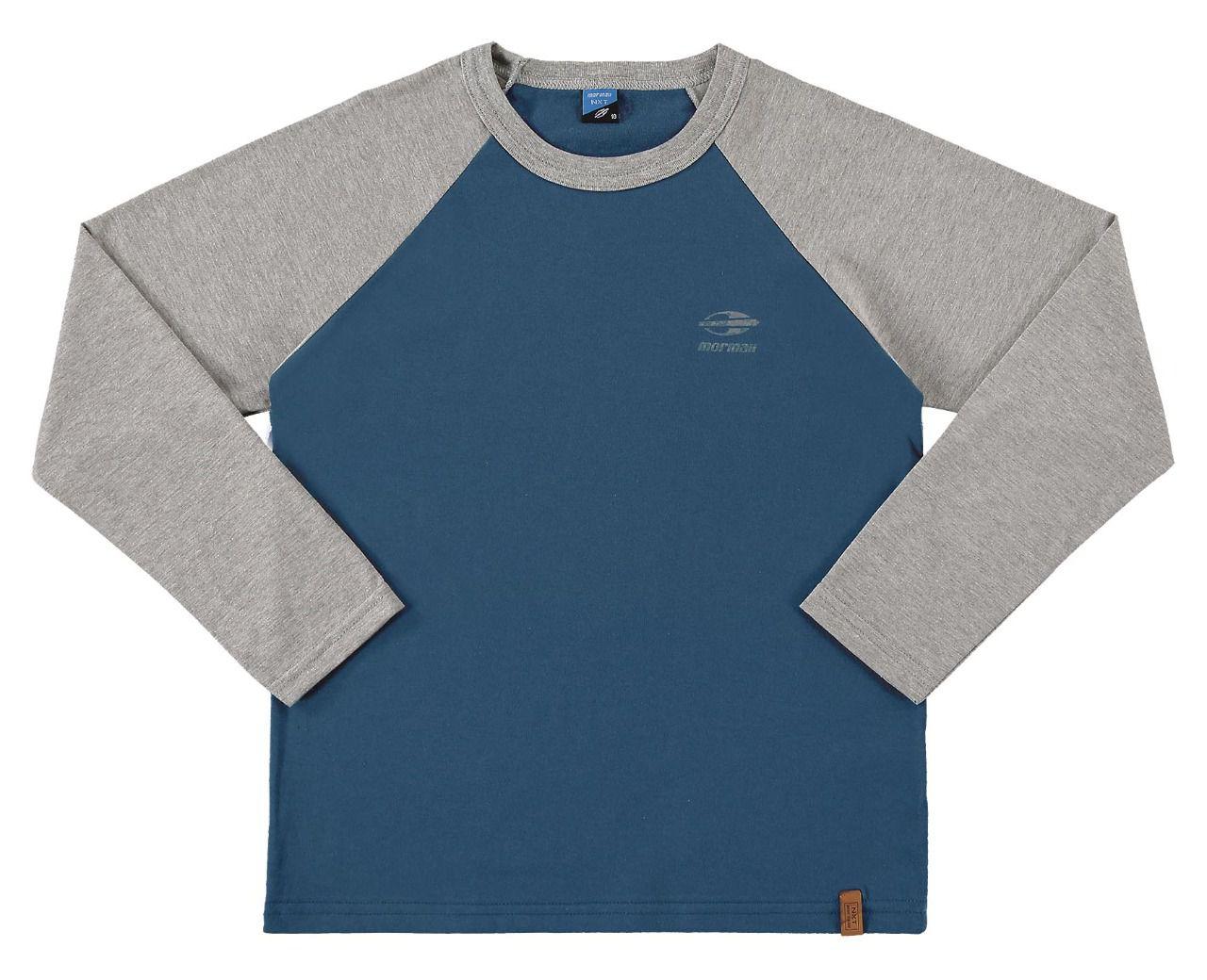 Camiseta infantil masculino manga comprida Mormaii