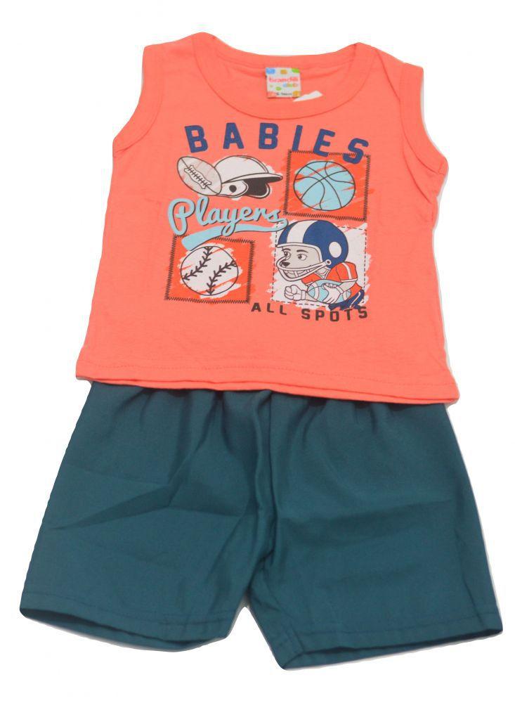 Conjunto infantil masculino Babies Brandili