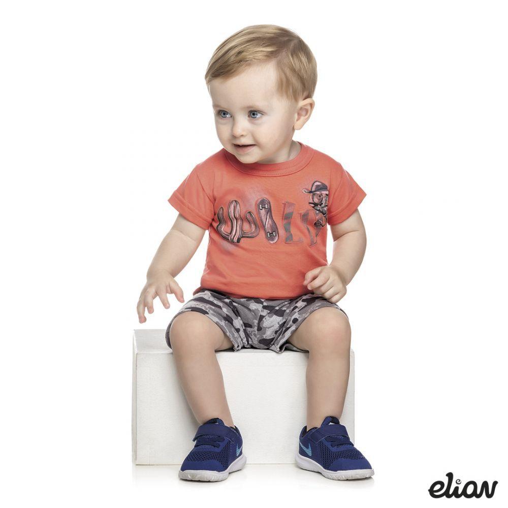 Conjunto infantil masculino camuflado Wild Elian