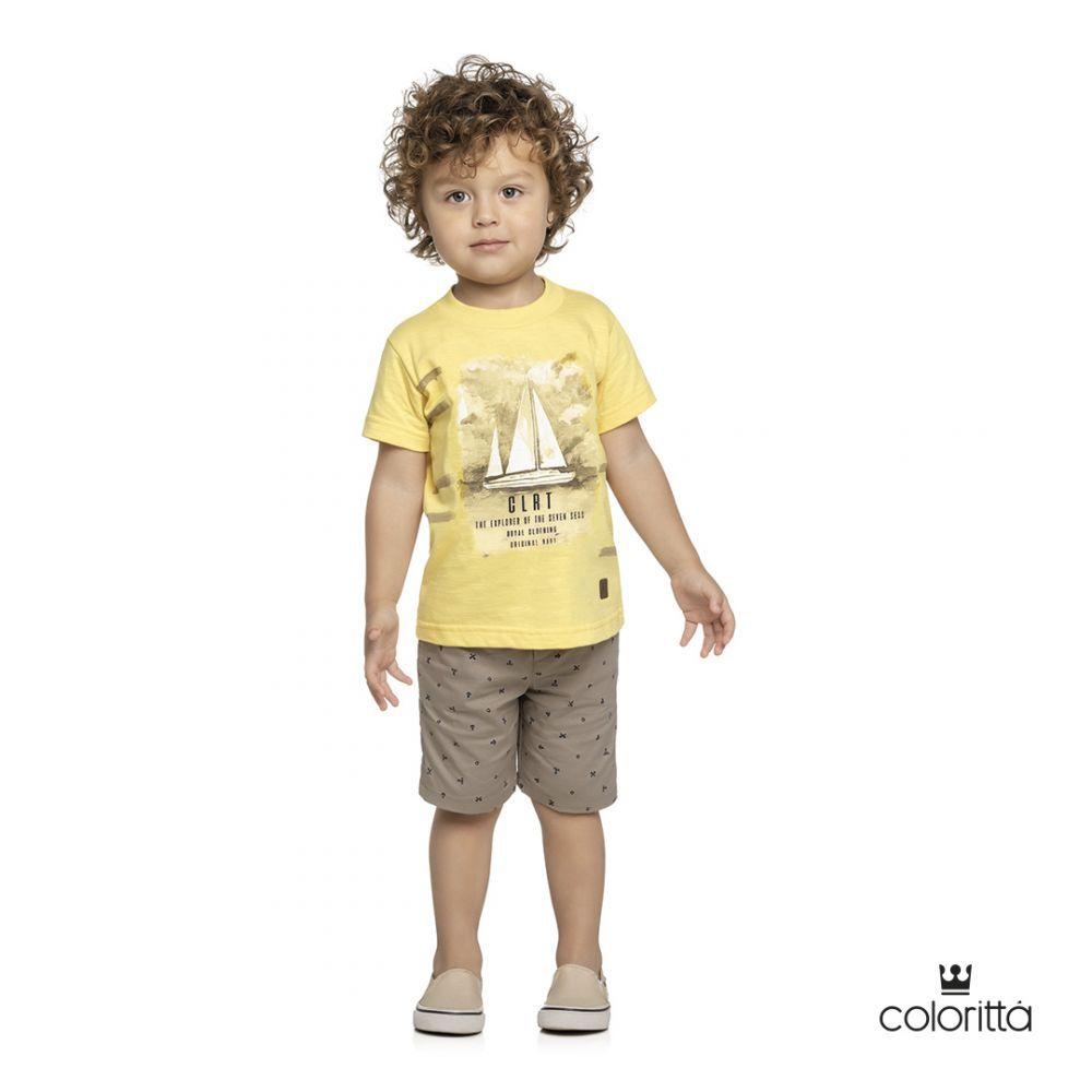 Conjunto infantil masculino Coloritta