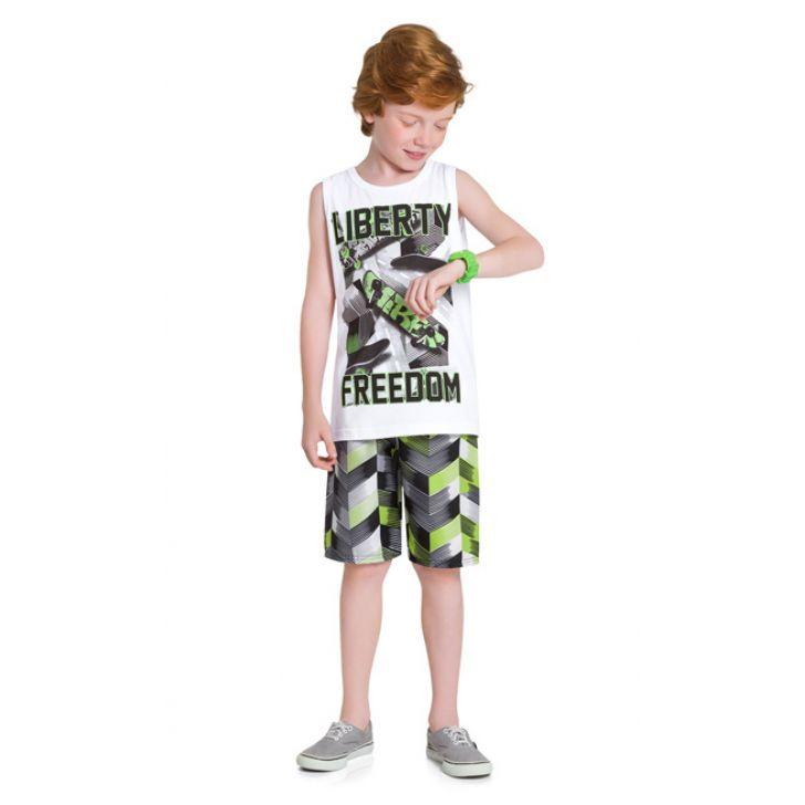 Conjunto infantil masculino Liberty Freedom Kyly
