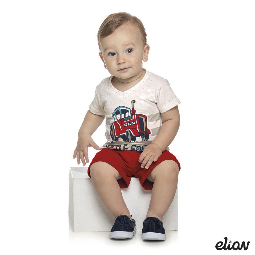 Conjunto infantil masculino Little Farm Elian