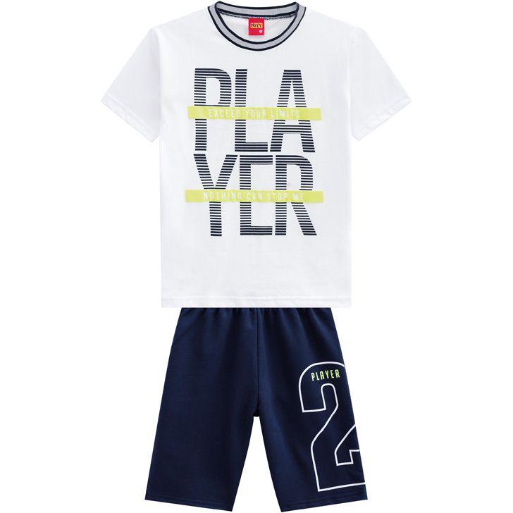 Conjunto infantil masculino Player Kyly
