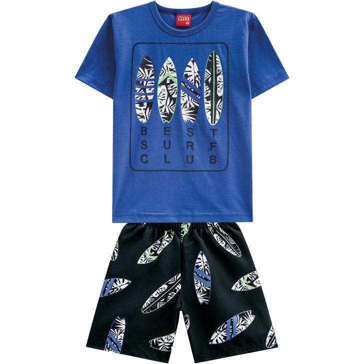 Conjunto infantil masculino Prancha de Surf Kyly