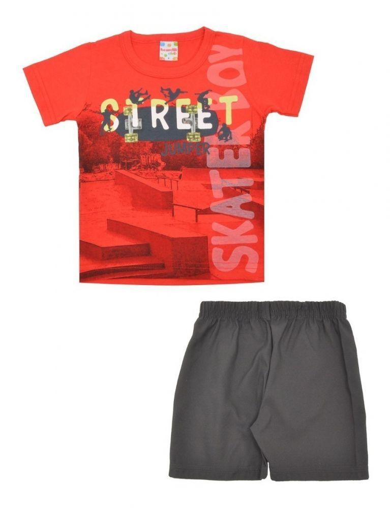 Conjunto infantil masculino Street Skate Boy Brandili