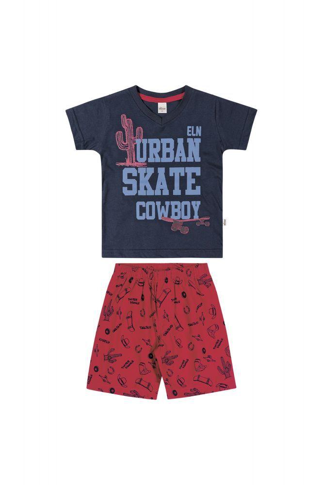 Conjunto infantil masculino Urban Skate Cowboy Elian