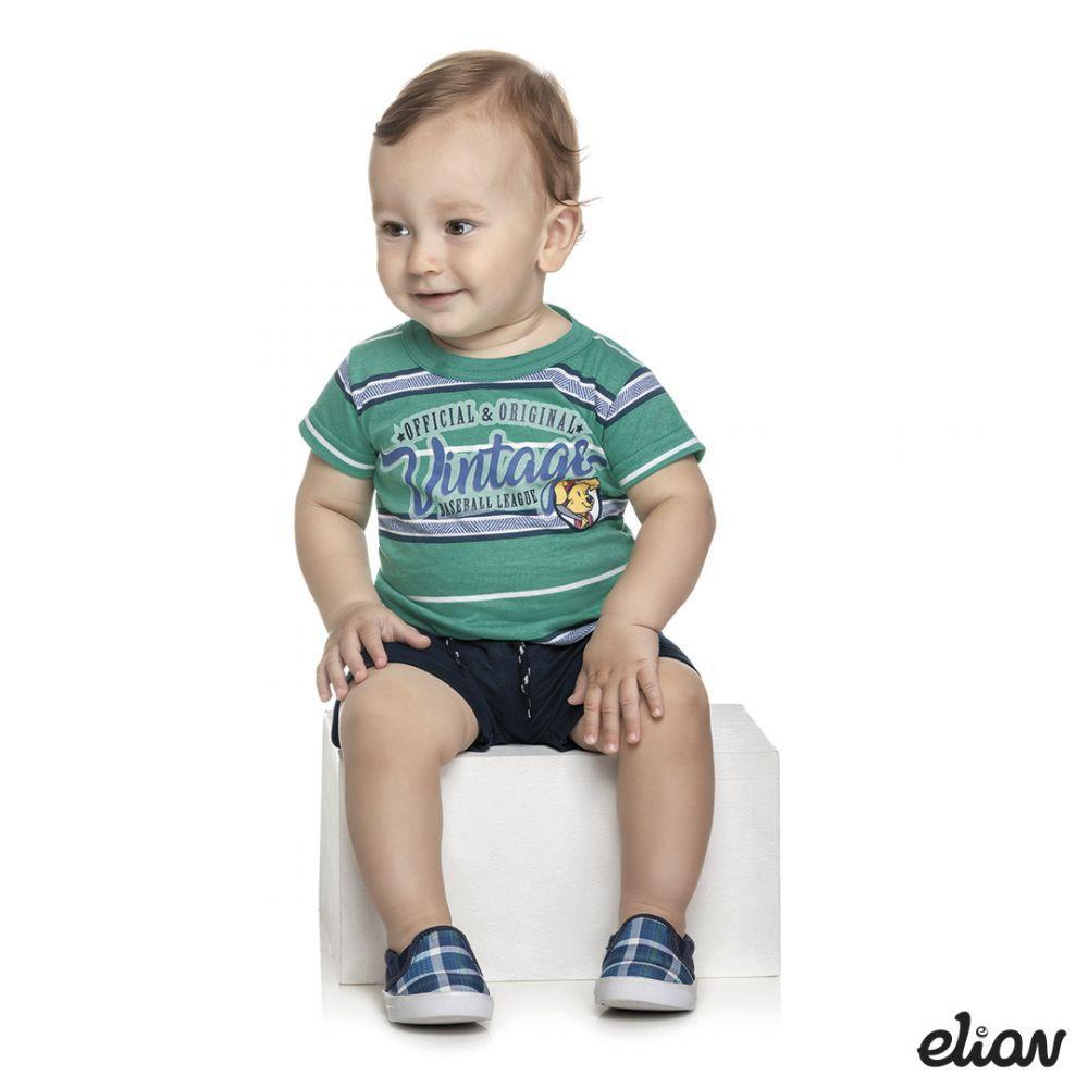 Conjunto infantil masculino Vintage Elian