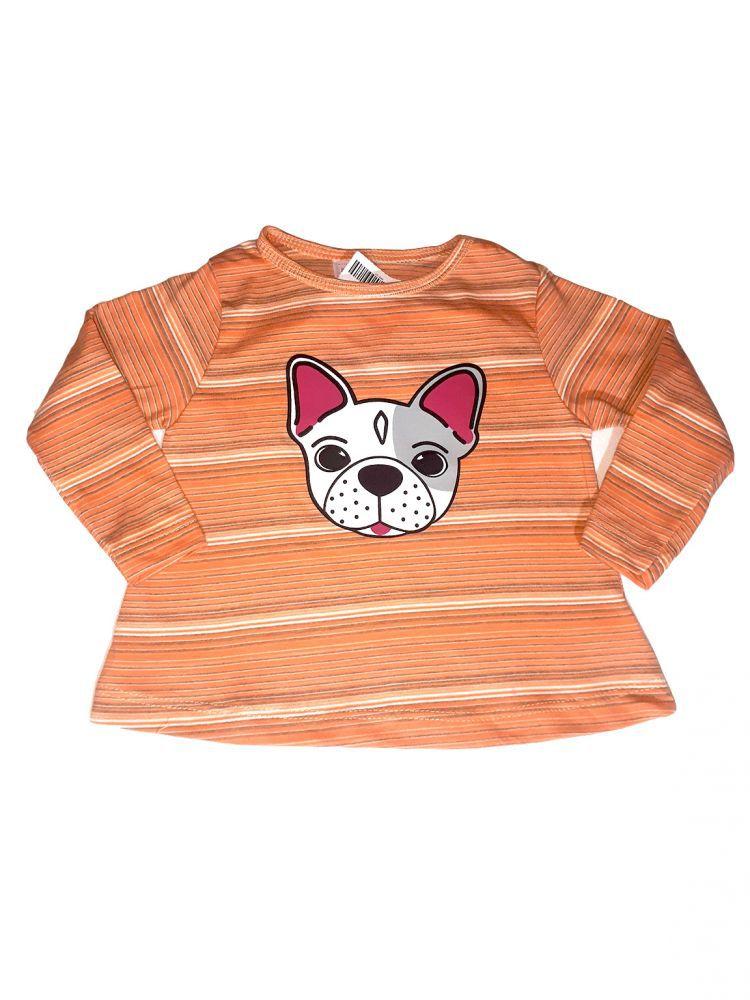 Conjunto infantil meia estação de menina Dog
